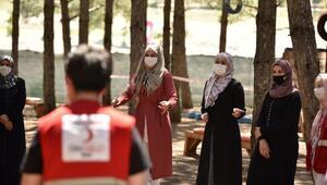 Büyükşehir Belediyesinden koronavirüse karşı moral ve motivasyon kampı