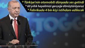Bursada tarihi açılış Cumhurbaşkanı Erdoğan: 60 yıllık hayalimizi gerçeğe dönüştürüyoruz