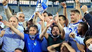 Erzurumda Dadaşların Süper Lig coşkusu