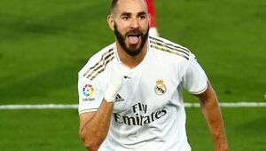 Real Madridin golcüsü Karim Benzemadan BB Erzurumspor paylaşımı