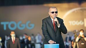 Cumhurbaşkanı Erdoğan, Türkiye'nin Otomobili'nin üretileceği fabrikanın temel atma töreninde konuştu: '60 yıllık hayal gerçeğe dönüştü