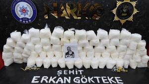 Şehit Erkan Gökteke adına düzenlenen operasyonda 2 kişi gözaltına alındı