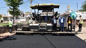 Bağların 5 bin nüfusluk mahallesi 26 yıl sonra asfaltlandı