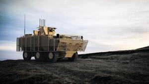 Pars 6x6 mayına karşı korumalı aracın ilk montajı yapıldı