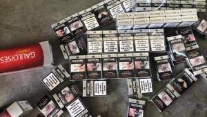 Kilis'te 2 bin kaçak sigara ele geçinildi