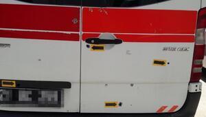 Doğum ihbarına giden ambulansa kurşun yağdırdı Yakalandı