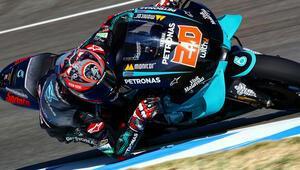 MotoGPde sezonun ilk yarışını Fabio Quartararo kazandı