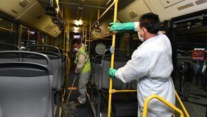 Toplu taşımada dezenfeksiyon