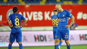 Son dakika Süper Ligde küme düşen ilk takım Ankaragücü oldu