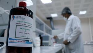 Koronavirüs salgınına karşı alkolsüz dezenfektan