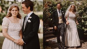 Prenses böyle evlendi: Kraliçe hem tacını hem elbisesini ona verdi