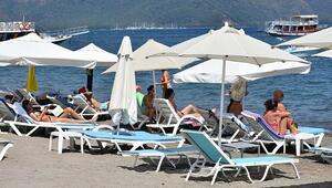 Marmariste tatil yapan turistler, Türkiye huzurlu ve güvenli
