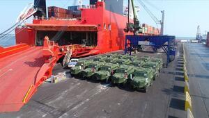 Zırhlı muharebe aracı Hızır Afrikaya gidiyor