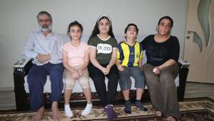 Görme engelli baba, çocuklarının tedavisi için yardım bekliyor