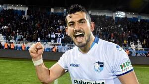 Maç öncesi kadroya alındı, Erzurumsporu Süper Lige çıkardı