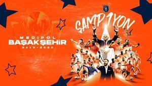 Süper Ligde 62. sezonun şampiyonu Başakşehir