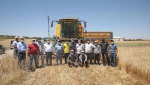 Başkan Yalçından çiftçilere ziyaret