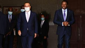 Bakan Çavuşoğlu Togolu mevkidaşıyla ortak basın toplantısı düzenledi
