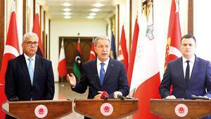 Ankara'da Libya için üçlü zirve... Barışa tek engel Hafter