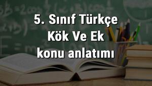 5. Sınıf Türkçe Kök Ve Ek konu anlatımı