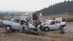 Adanada trafik kazası: 1 ölü, 4 yaralı