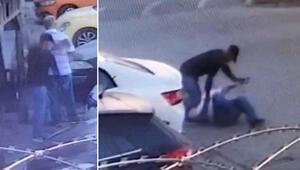 Dehşete düşüren olay Önce gazete okuyup gözetledi sonra saldırdı