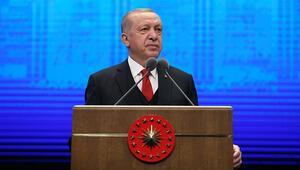 Son dakika... Cumhurbaşkanı Erdoğan: Hakkını söke söke alan bir ülke olarak devam edeceğiz