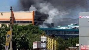 İzmir Ödemiş Devlet Hastanesinde korkutan yangın