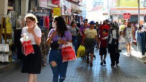 Adanada bayram öncesi çarşıda yoğunluk arttı