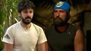 Survivor yarışmacıları Yasin ile Tayfun birbirine girdi: Seni adam sandım ama baban haklıymış