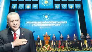 Erdoğan yeni sistemin iki yılını anlattı: Reform, icraat ve değişimle yola devam