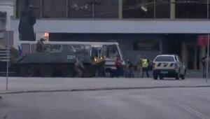Ukrayna'da otobüste 13 yolcuyu rehin alan saldırgan operasyonla yakalandı