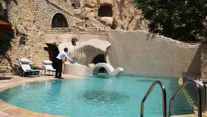 Kapadokyadaki turizm tesislerinden turistlere sağlık öncelikli tatil imkanı