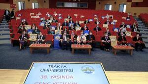 Trakya Üniversitesi 38 yaşında