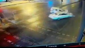 Esenyurttaki kaza anı kamerada