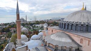 Ayasofya Camii ne zaman açılıyor Cumhurbaşkanı Erdoğandan Ayasofya paylaşımı