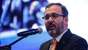 Gençlik ve Spor Bakanı Muharrem Kasapoğlu müjdeyi verdi: Mülteci gençlere 28 spor tesisi