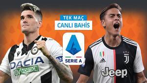 Juventus, Udinese deplasmanında kazanırsa şampiyon Galibiyetlerine iddaada...