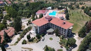 Emette termal otele 'güvenli turizm' sertifikası