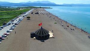 Antalya sahilleri değil, Konya Ovası