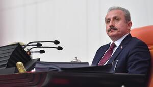 TBMM Başkanı Mustafa Şentoptan Erzurum Kongresi mesajı