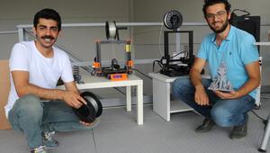3D yazıcılara sarfiyat malzemesi üretiyorlar