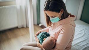 Uzmanlar uyarıyor: Bebeğinizin yanında maske takın