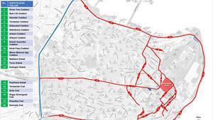 Son dakika haberi: İstanbul Valisi harita ile paylaştı... Saat 20.00den sonra bu yollar kapalı