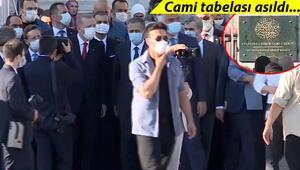 Son dakika... Cumhurbaşkanı Erdoğan Ayasofyaya geldi