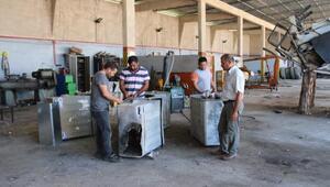 Kozan Belediyesinden çöp konteynerlerine bakım ve onarım