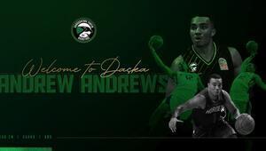 Darüşşafaka Tekfen, Andrew Andrewsi kadrosuna kattı