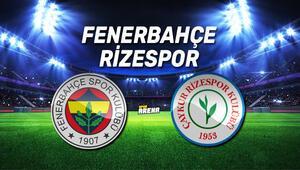 Fenerbahçe Çaykur Rizespor maçı saat kaçta, hangi kanalda