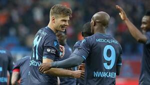 Trabzonspor kafilesi Kayseriye gitti Nwakaeme kadroda yok