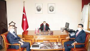 TİSK'ten Oktay'a ziyaret
